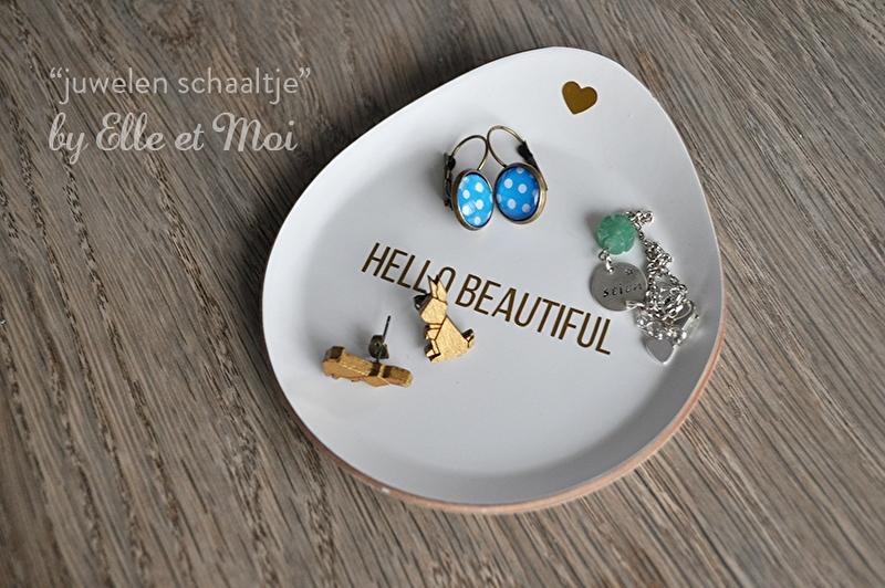 gepersonaliseerd juwelenschaaltje