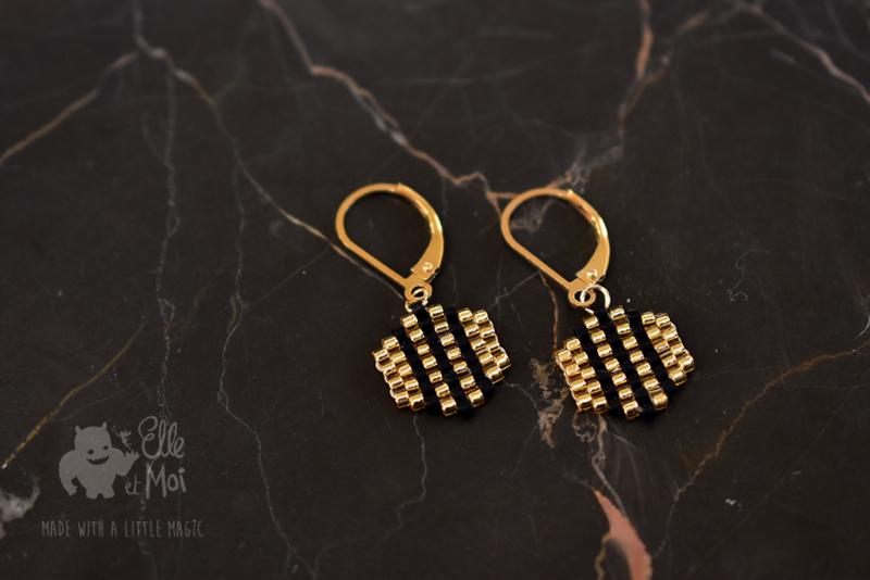 Oorhangers Perline 'Milla' • gold-filled •
