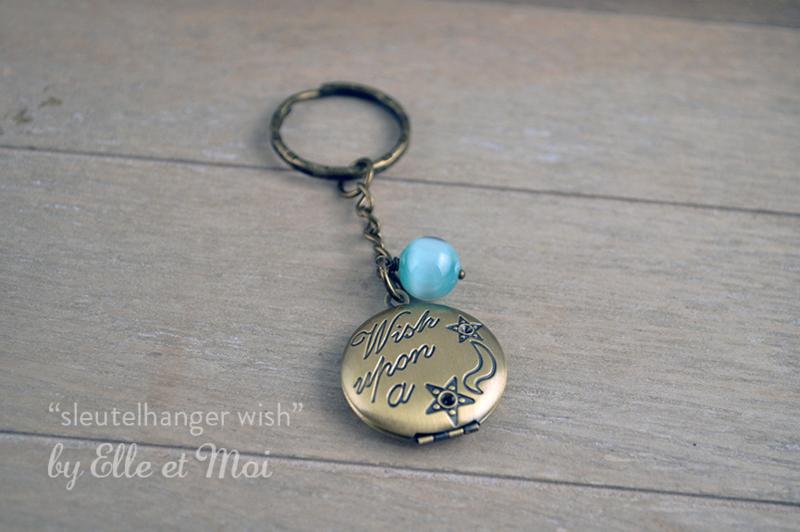 Sleutelhanger 'wish'