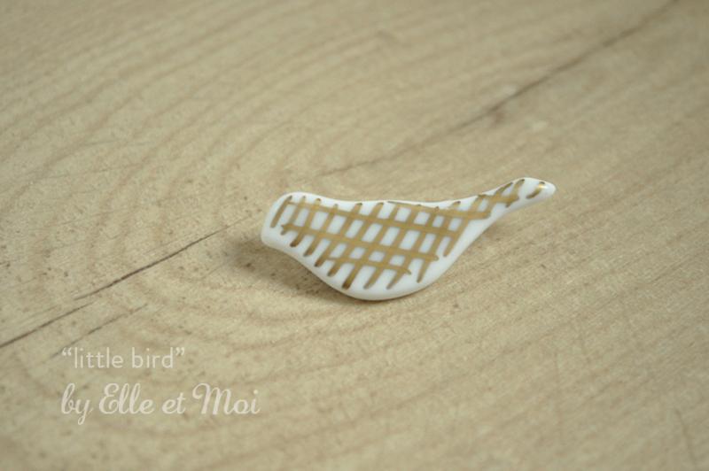 broche 'little bird'