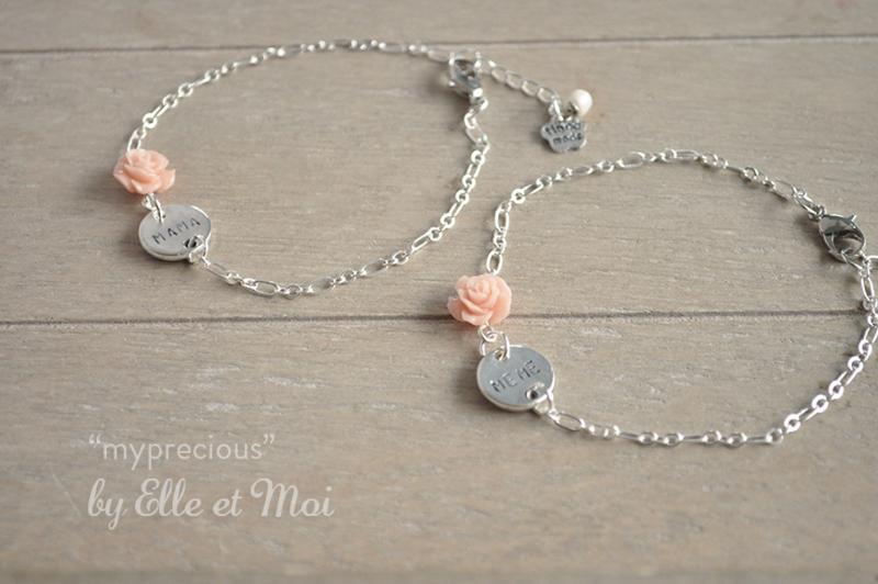 Gepersonaliseerd armbandje 'my precious' sterling zilver - voor Emily