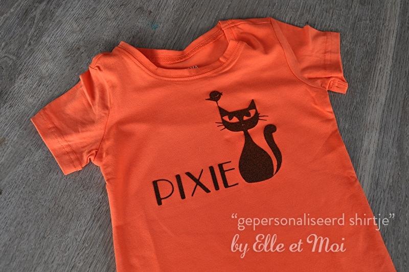 gepersonaliseerd shirtje met tekening en naam