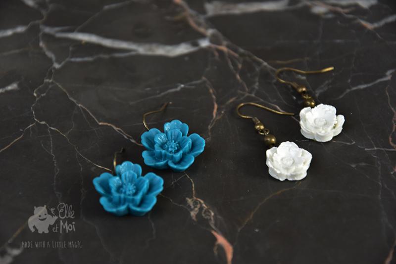 oorhangers 'fleur'
