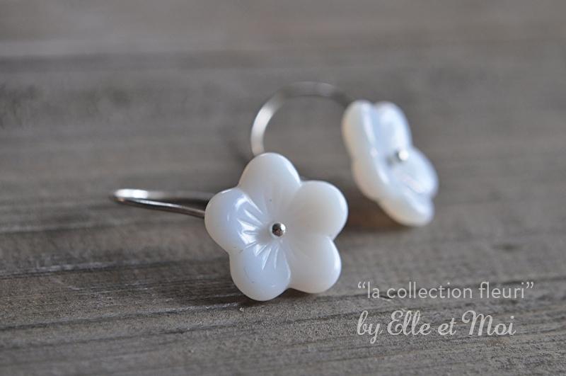 oorhangers 'la collection fleuri'