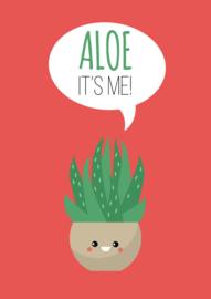 Kaart Aloe it's me!