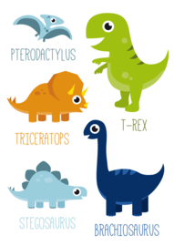 Poster Dinosaurus A3