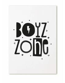 Ansichtkaart Boyz Zone