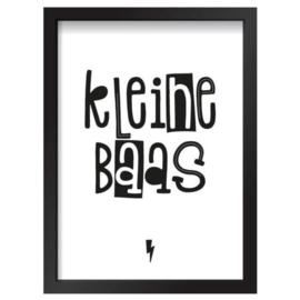 Poster Kleine baas 30 x 40 cm