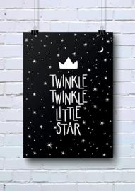 Poster Twinkle twinkle little star A4