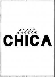Ansichtkaart Little chica