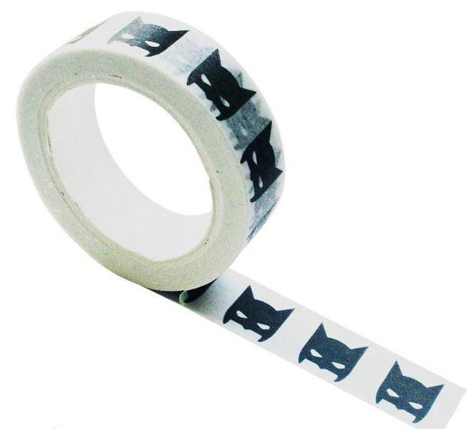 Masking tape batman zwart-wit