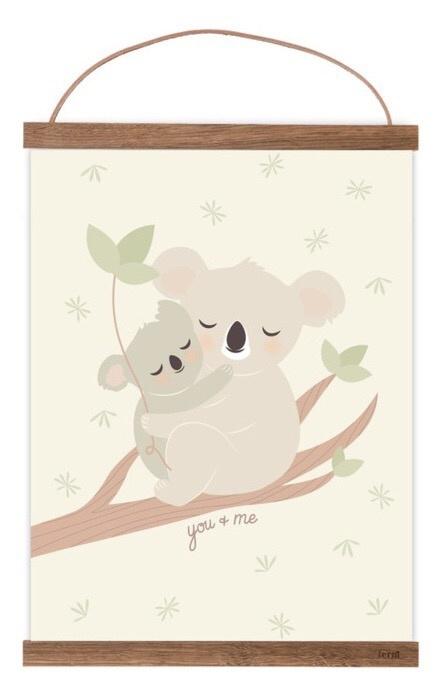 Poster Koala you & me A4