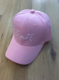 Baseball Cap - Pink - Kitty