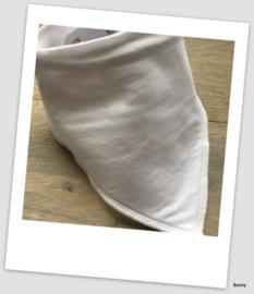 Sjaaltje / Slabber - Effen - Wit