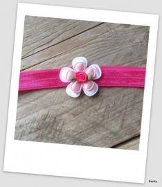 Babyhaarbandje small Hot Pink