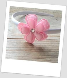 Diadeem White & Pink