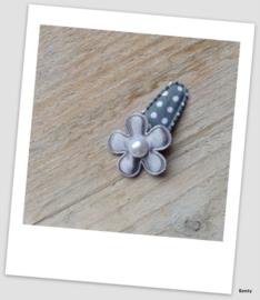 Baby/Peuter speldje - Grey Dots no1