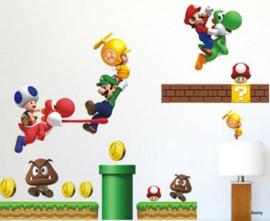 Muursticker - Mario