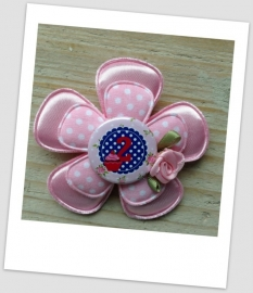 Verjaardag Broche Girly Pink 2