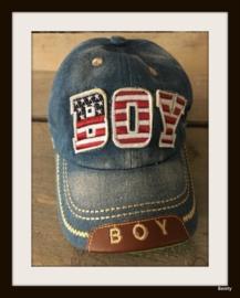 Baseball Cap - Denim Look - licht