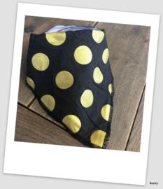 Sjaaltje / Slabber - Black dots