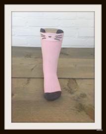 Sokken - 6 tot 18 mnd - Pink Mouse