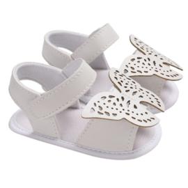 Sandaal - Vlinder - Wit