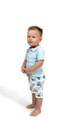 Ducky beau shortsleeve bril + Short palm - CBPO07