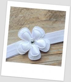 Babyhaarbandje mini White lace