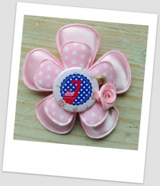 Verjaardag Broche Girly Pink 7