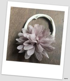 Benty haarbandje - Grijs glitter