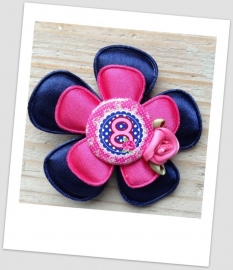 Verjaardag Broche Cool Blue 8