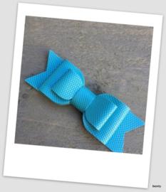 Xxl strik de Luxe - Blauw