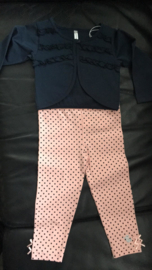 Setje bolero + dotty legging - maat 86