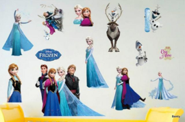 Muursticker - Frozen