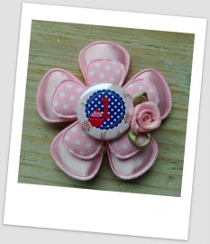 Verjaardag Broche Girly Pink 1