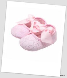 Lace Look Schoentjes - Pink