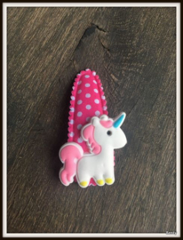 Unicorn Fuchsia dots 2