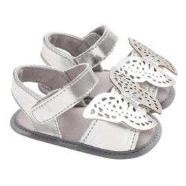 Sandaal - Vlinder - Zilver