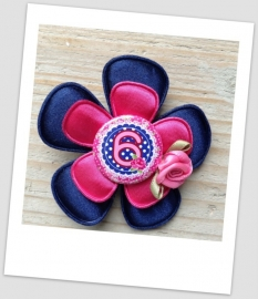 Verjaardag Broche Cool Blue 6