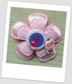 Verjaardag Broche Girly Pink 5
