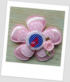 Verjaardag Broche Girly Pink 4