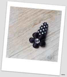 Baby/Peuter speldje - Black Dots no1