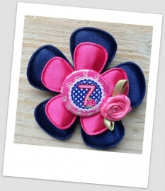 Verjaardag Broche Cool Blue 7