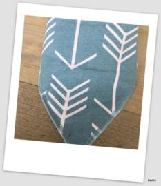 Sjaaltje / Slabber Arrow Blue