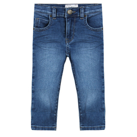 Ducky Beau BROEK / JEANS / CVPA10 / LIGHT DENIM   UNISEX MAAT 68