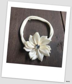 Benty haarbandje - Ivory luxe