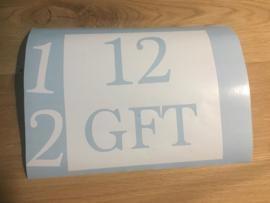 Sticker container vierkant - gft/rest/pmd/papier