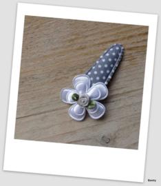 Speldje 5cm - Grey Dots no2
