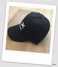 Baseball Cap - Black Cross